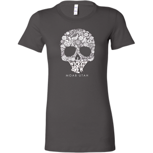 Womens Bella Wicked Brew Skully Shirt