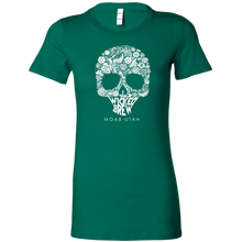 Load image into Gallery viewer, Womens Bella Wicked Brew Skully Shirt