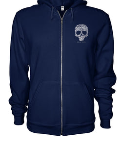 Wicked Brew Skully Gildan Zip-Up Hoodie