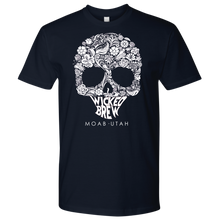 Load image into Gallery viewer, Mens Next Level Wicked Brew Skully T-Shirt