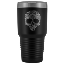 Load image into Gallery viewer, Wicked Brew Skully 30 Ounce Vacuum Tumbler