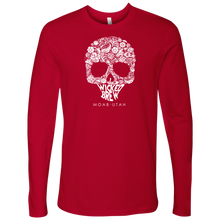 Load image into Gallery viewer, Mens Next Level Wicked Brew Skully Long Sleeve