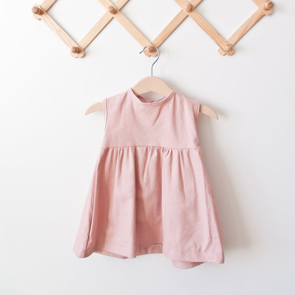 Rose Emery Linen Dress