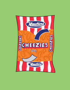 Cheezies 8x10 Print