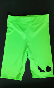 StilettoBurn NEON Collection Biker Short