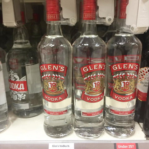 Things You Mainly See in Scotland, Gie it Laldy, Scottish Gifts,Scottish Culture,Glasgow Gift Shop,Glenns Vodka