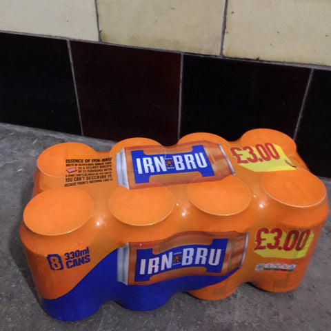 Gie it Laldy, Glasgow Gift Shop, Irn Bru, Things You Mainly See in Scotland