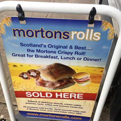 mortons rolls,gie it laldy,scottish culture,glasgow,glasgow gift shop, gifts,things you mainly see in scotland