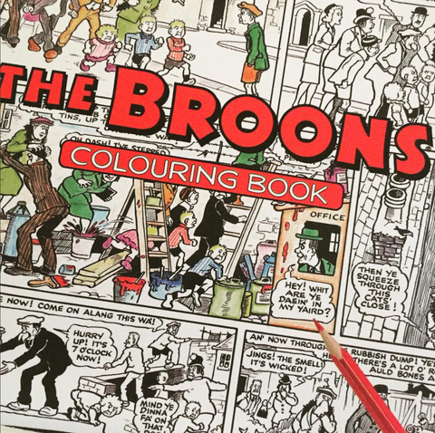 the broons,gie it laldy,scotland,scottish culture,glasgow gift shop,scottish gitfs,scottish gift shops, gifts
