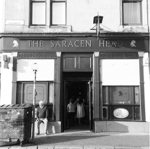 bar,pub,glasgow,cafe,gie it laldy,establishments,glasgow gift shop, the saracen head