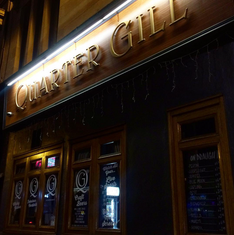 bar,pub,glasgow,cafe,gie it laldy,establishments,glasgow gift shop,the quarter gill,partick