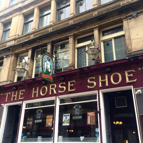 bar,pub,glasgow,cafe,gie it laldy,establishments,glasgow gift shop, the horse shoe