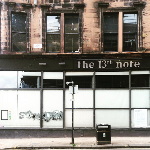 bar,pub,glasgow,cafe,gie it laldy,establishments,glasgow gift shop, the 13th note