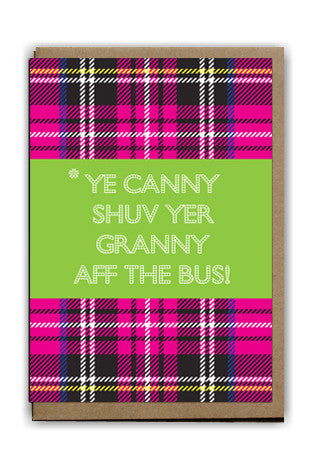 ,Handmade Cards,Scottish Cards,Printed Cards,Gie It Laldy,Cards