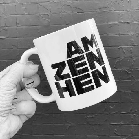Zan hen, Scottish gifts for her, Gie it Laldy Glasgow Gift Shop