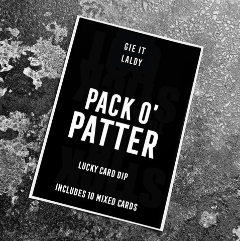 Patter Pack (10 Card Pack)