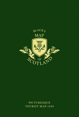 Glasgow Gifts, Scottish Books, Gie it Laldy, Glasgow Books, Scottish Gifts, Glasgow Gift Shop, Blacks Map of Scotland