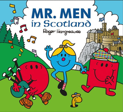 Glasgow Gifts, Scottish Books, Gie it Laldy, Glasgow Books, Scottish Gifts, Glasgow Gift Shop, Mr.Men in Scotland