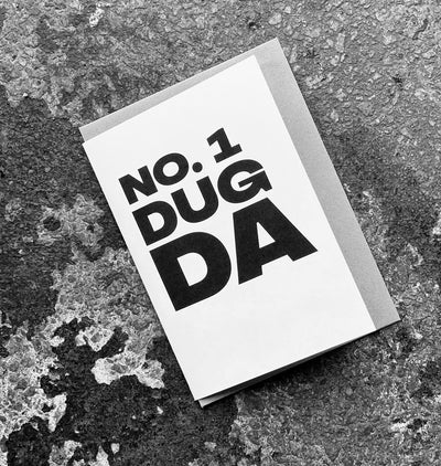 No. 1 Dug Da Card