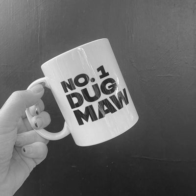 'No. 1 Dug Maw' Scottish Mug