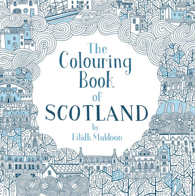 Glasgow Gifts, Scottish Books, Gie it Laldy, Glasgow Books, Scottish Gifts, Glasgow Gift Shop, The Colouring Book of Scotland