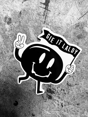 Gie it Laldy Sticker Pack