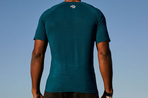 Men's Fitted Bamboo Gym T-Shirt | TYDL