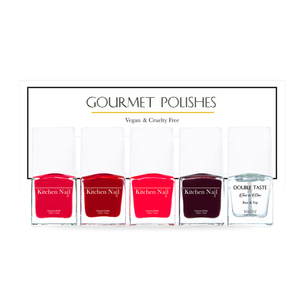 GOURMET POLISH RED
