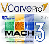 Vectric VCarve Pro 8 and Mach3 Bundle