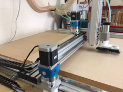 Refurbished 4' x 4' Rack and Pinion Desktop CNC Router Package