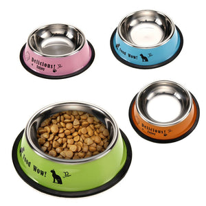 Stainless Steel Pet Food And water bowl