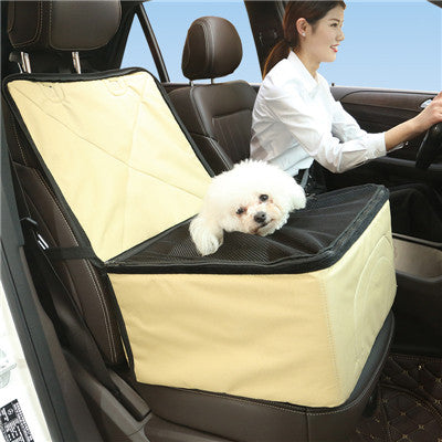 Waterproof Puppy Basket car seat