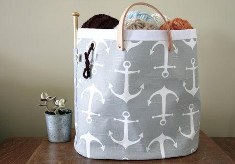 Hey Sailor! Knitting Tote