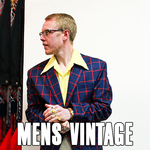 Vintage Mens Clothing 1950's 1960's 1970's 1980's 1990's