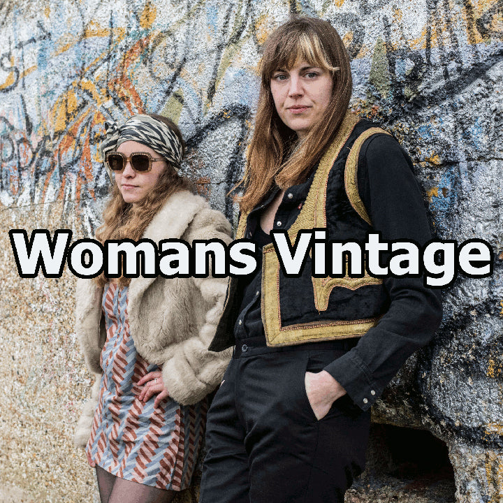 Vintage Womans Clothing 1950's 1960's 1970's 1980's 1990's