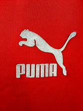 Load image into Gallery viewer, Red and white Puma Track jacket L