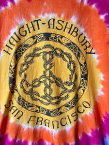 Tye dye Haight-Ashbury Tee shirt M