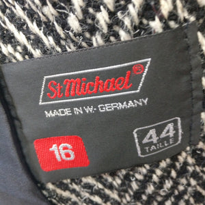 M and S womens 1980s jacket M/L