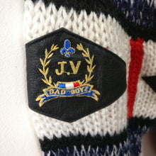 Load image into Gallery viewer, Vintage designer Jackie Vital 1980s 90s bad boyz knitted jumper L