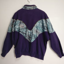 Load image into Gallery viewer, 1980s Athlet vintage quarter zip tracksuit L