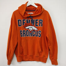 Load image into Gallery viewer, Denver broncos NFL orange hoodie M