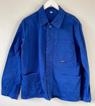 Load image into Gallery viewer, Blue work chore jacket S
