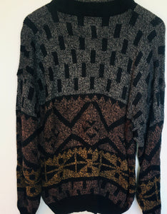 1990s vintage turtleneck jumper XL