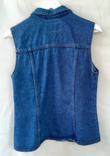 Load image into Gallery viewer, Denim waistcoat 1980s/90s S/M