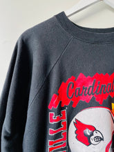 Load image into Gallery viewer, Vintage 1990s USA Louisville Cardinals sweatshirt L