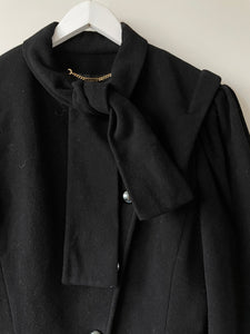 Super soft 1980s vintage Windsmoor short black jacket S/M