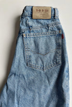 Load image into Gallery viewer, HIS mid blue high waist jeans S