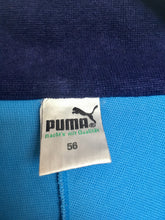 Load image into Gallery viewer, 1980s vintage towelling cotton colour block Puma tracksuit jacket XL