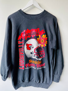 Black Louisville cardinals sweatshirt