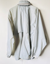 Load image into Gallery viewer, Grey 1990s vintage K-Way rain jacket Pac-a-Mac L